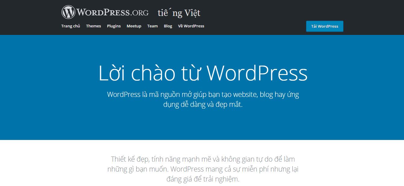 Sử dụng CMS WordPress để làm web chuẩn SEO