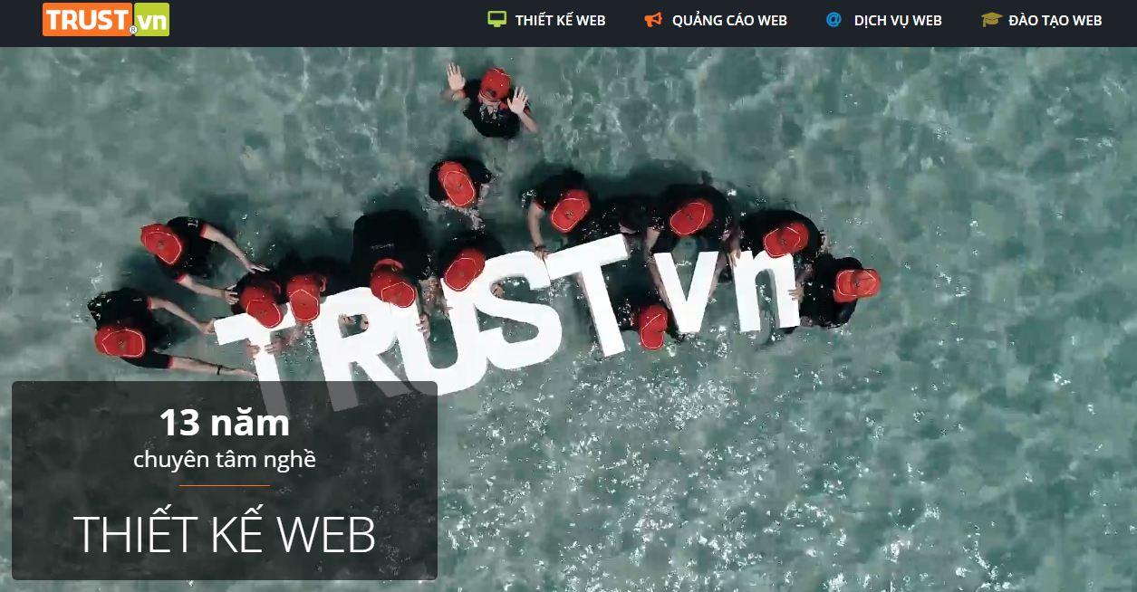 Công ty thiết kế website Trustvn