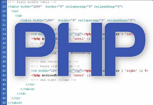 Nhược điểm của ngôn ngữ php