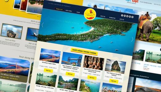 Sai lầm khi thiết kế website du lịch