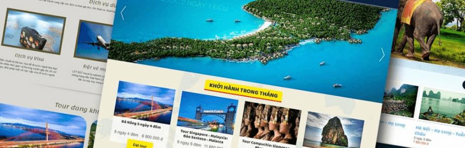 Sai lầm khi thiết kế website du lịch để kinh doanh