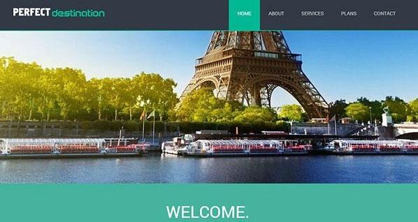 hình ảnh website du lịch