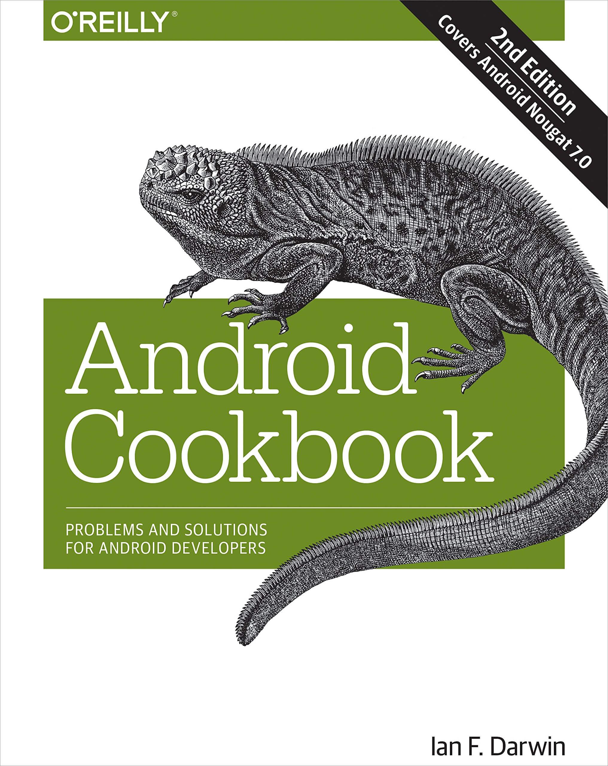 Sách dạy lập trình android Andriud Cookbook